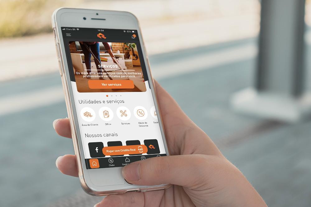 Conheça o app da Crédito Real